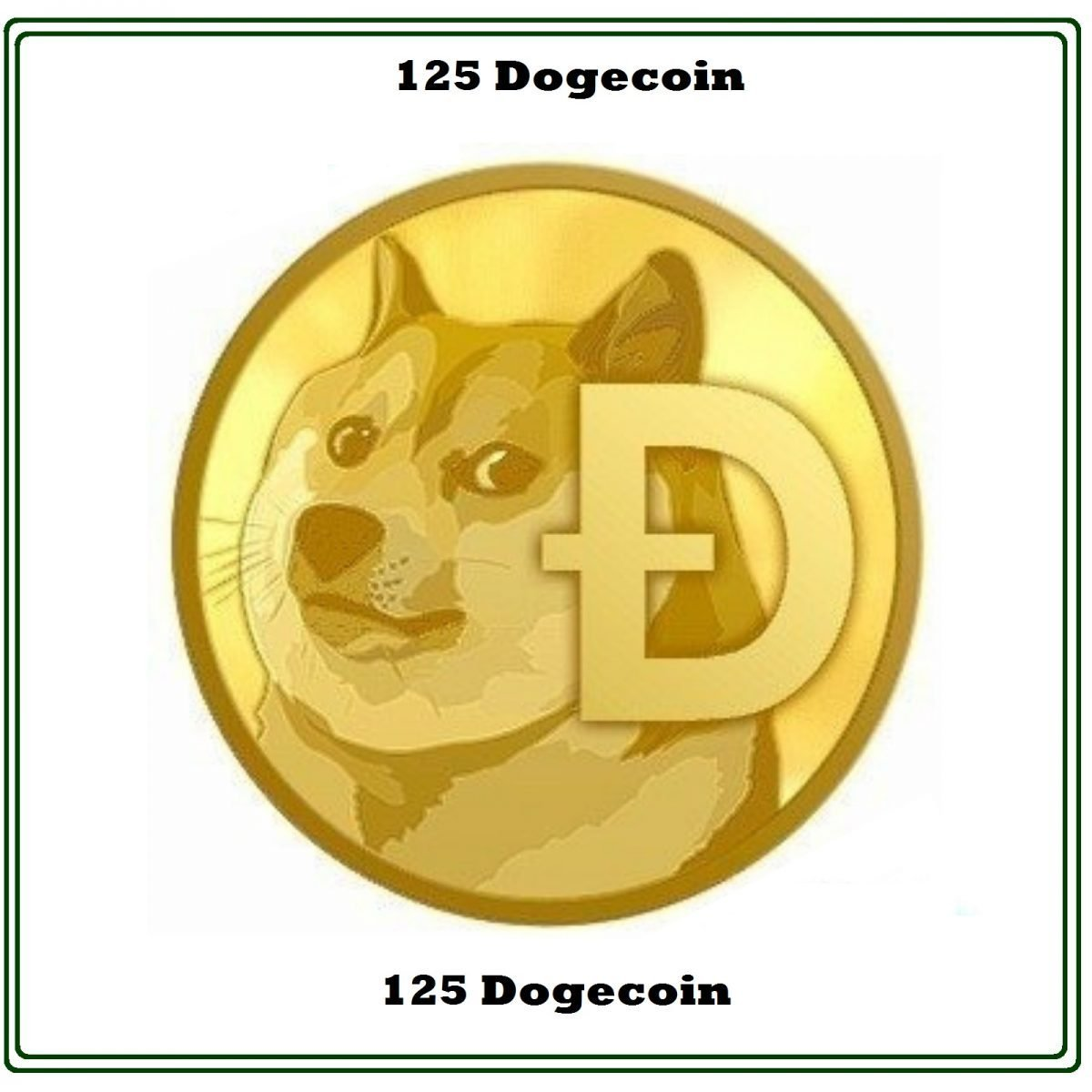 Code Service For Doge Code (D O G E) 125