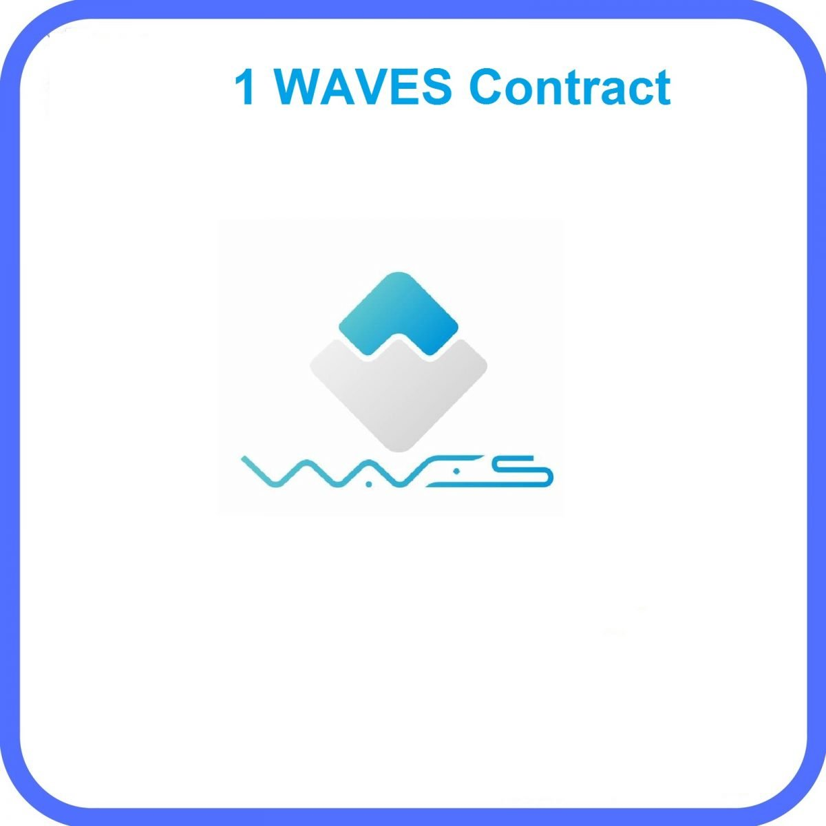 1 Waves Mining Contract