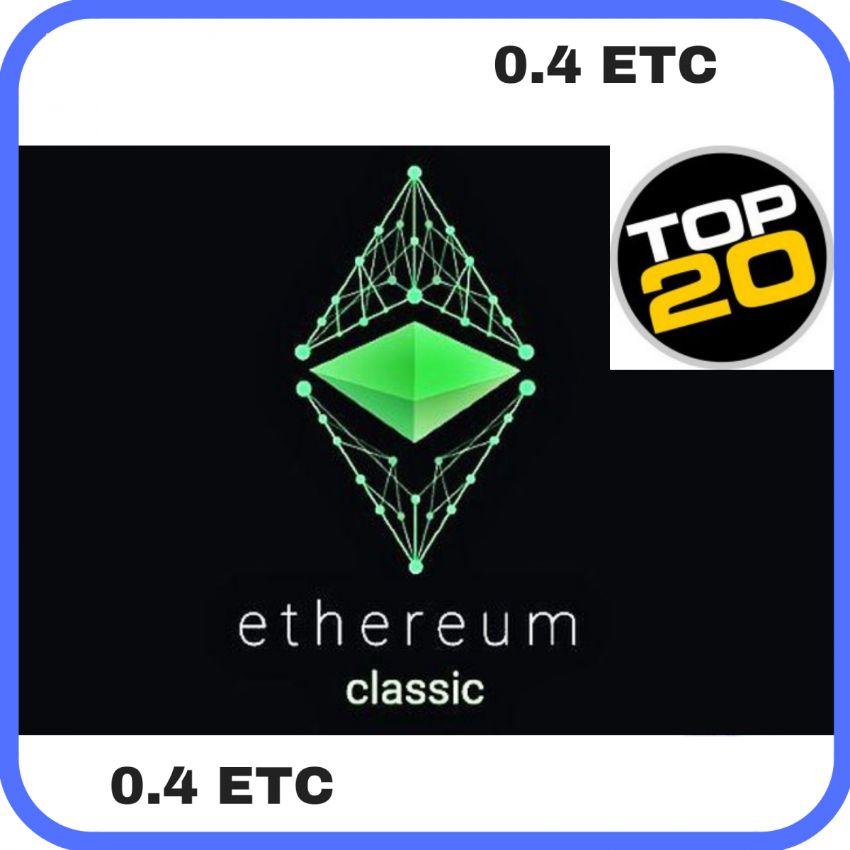 Rent ETC Riggs (15 MH/s) 0.4 ETC (Ethereum Classic Contract)