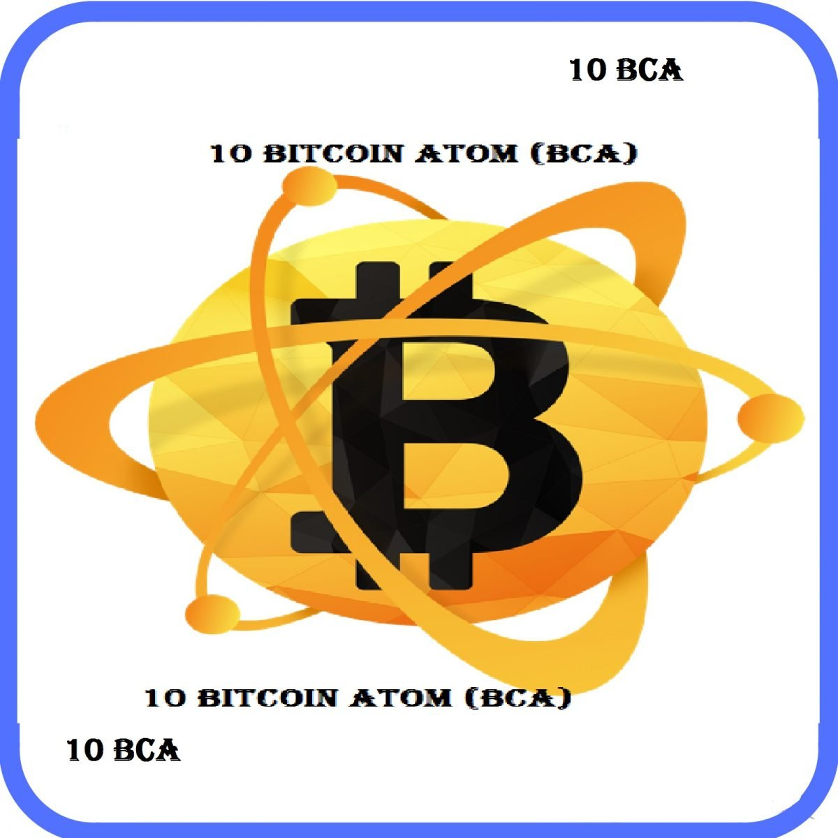 10 Bitcoin Atom Describe for cloud services