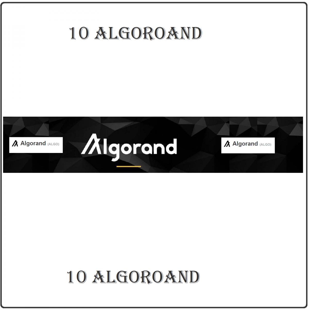 ALGO Service (10 ALGO)