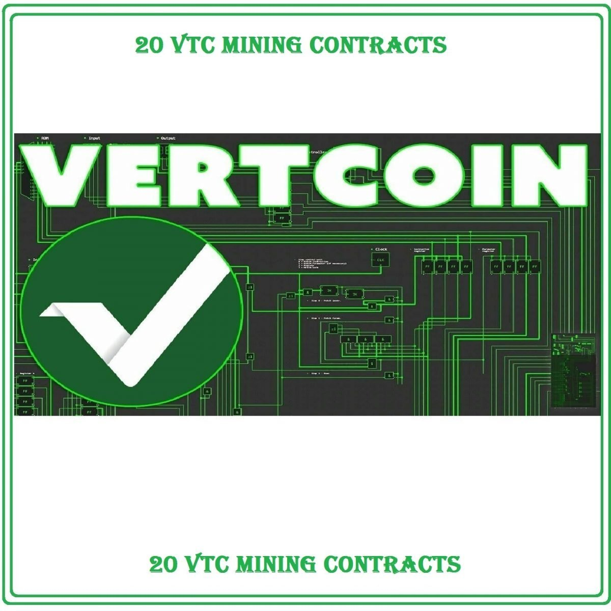 Coding Service Get For 20 Vertcoin (VTC)