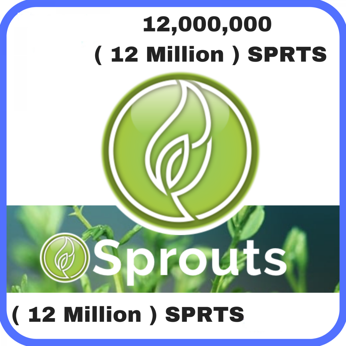 12 Million Sprouts (IOS Develop)