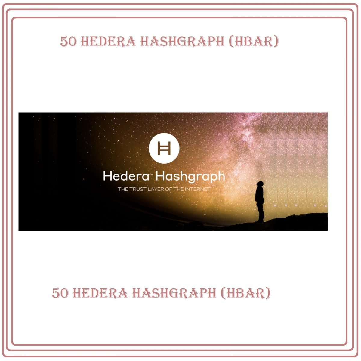 50 Hedera Hashgraph Ledger Technology