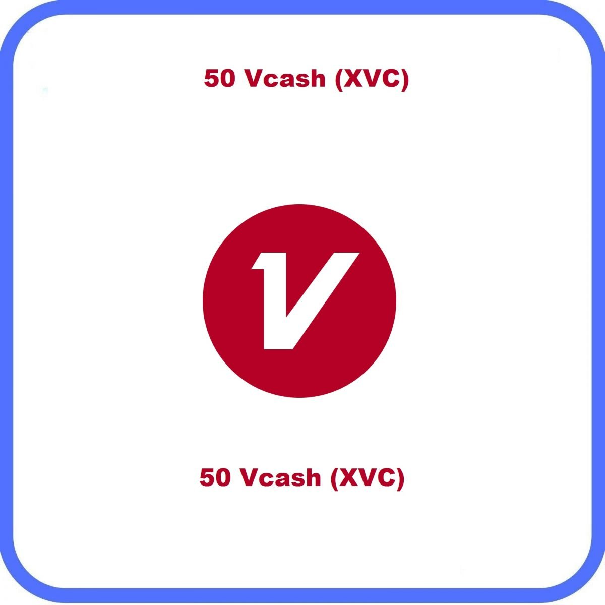50 Vcash XVC Services