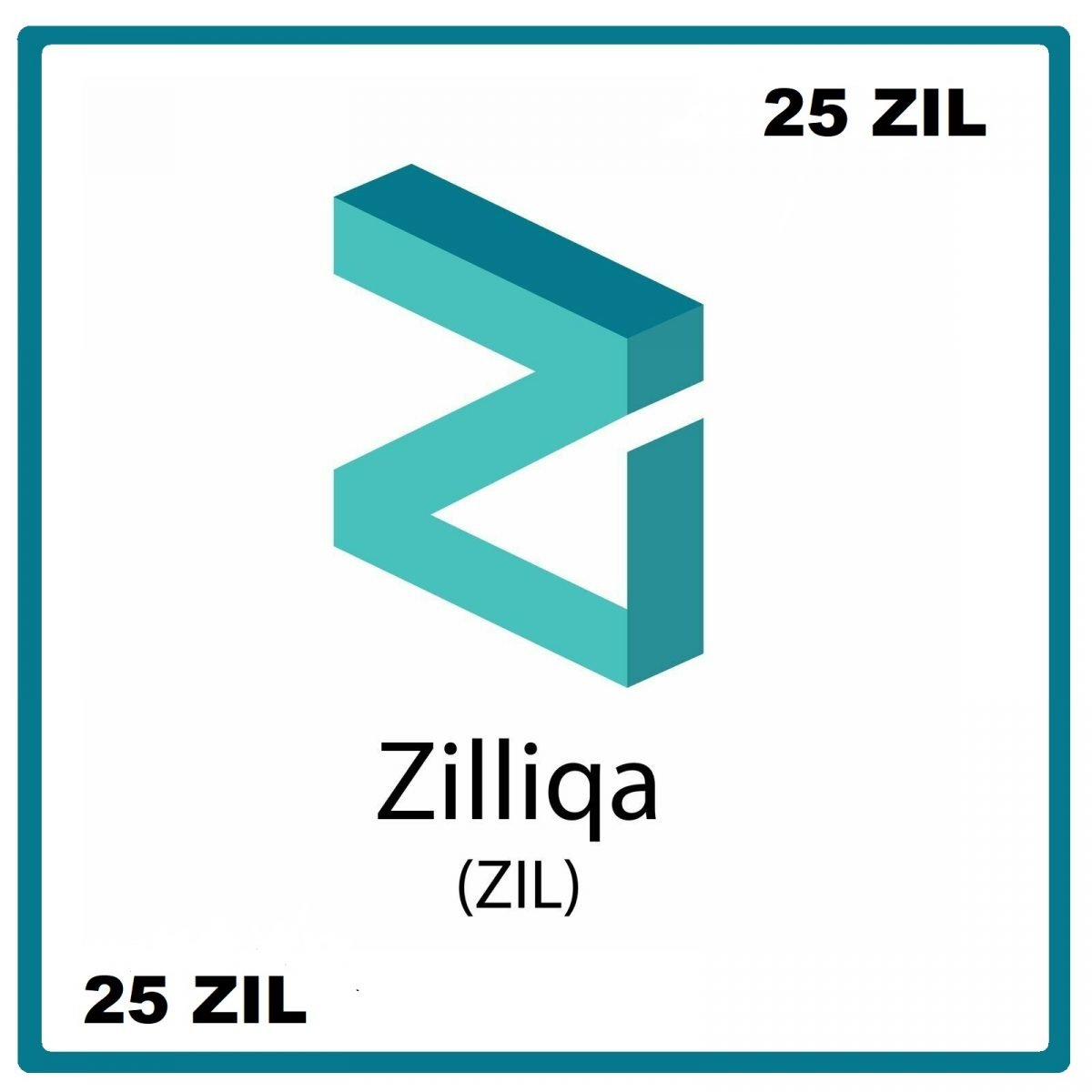 25 Zilliqa Mining Contract