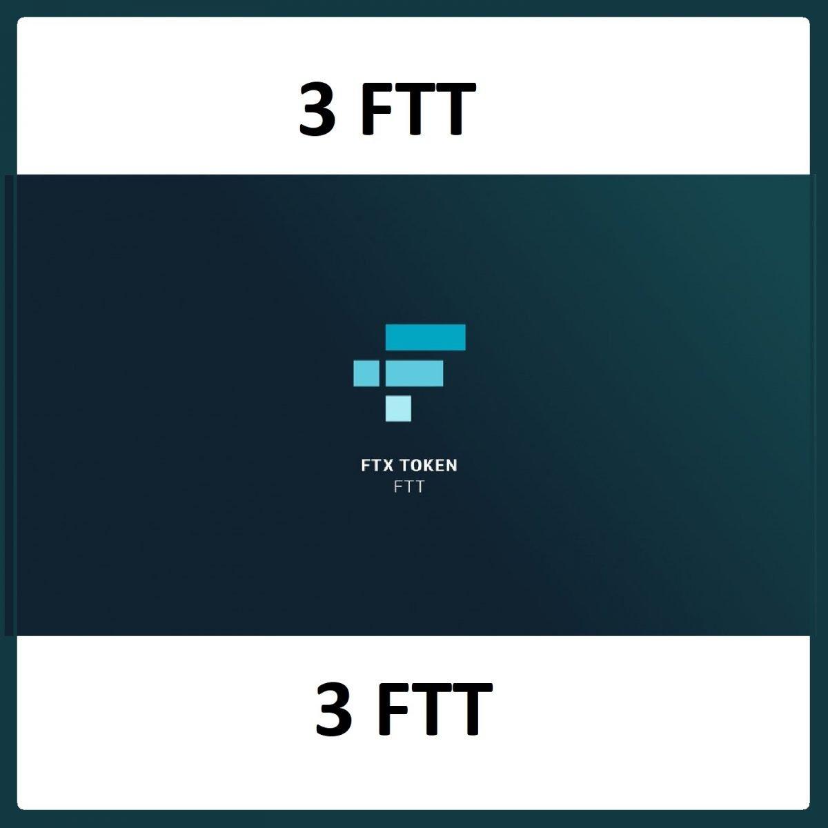 3 FTX Token Mining Service