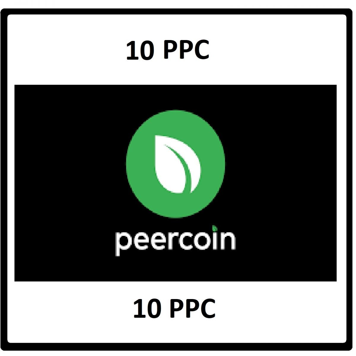 10 Peercoin Mining Contract