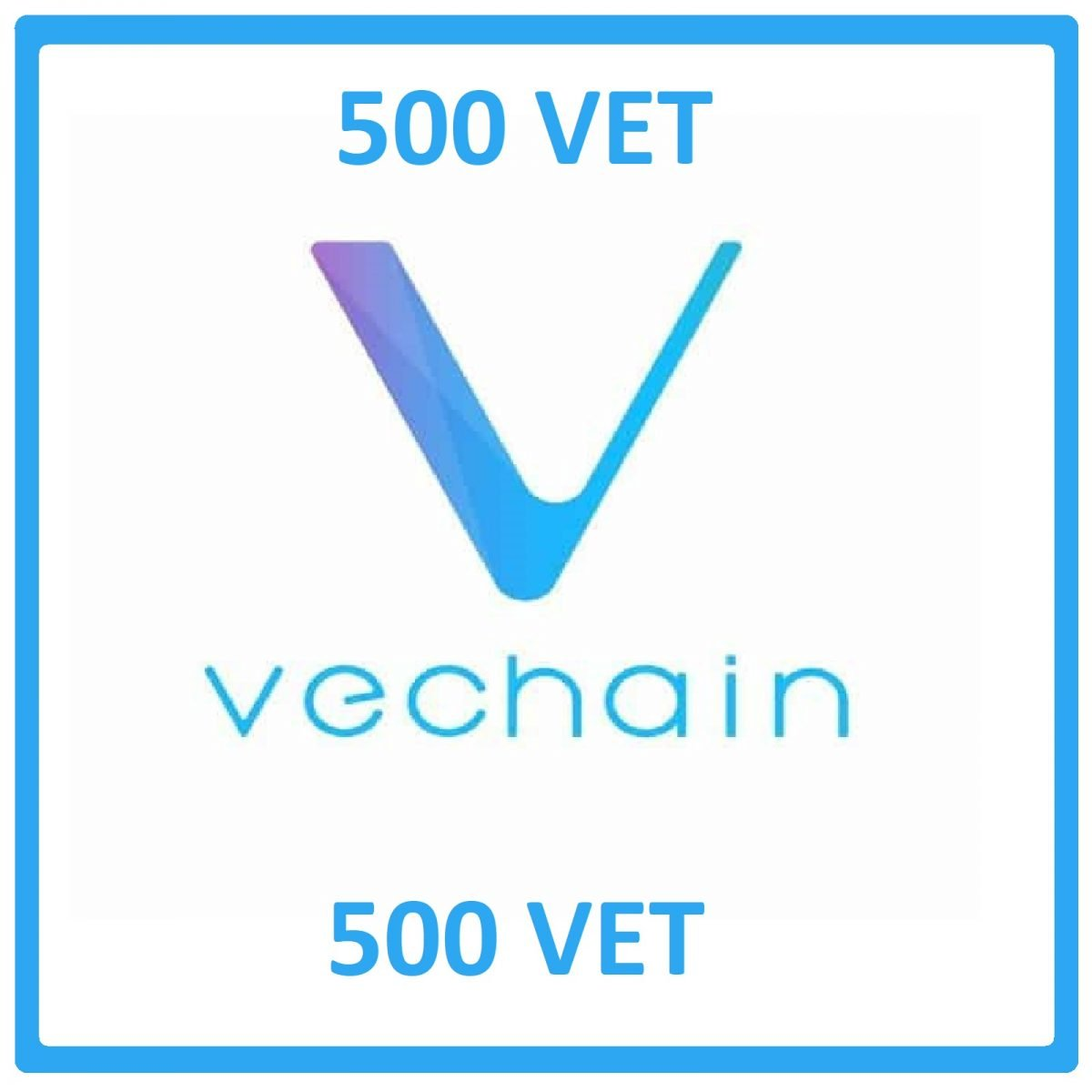 500 VeChain  Mining Contract