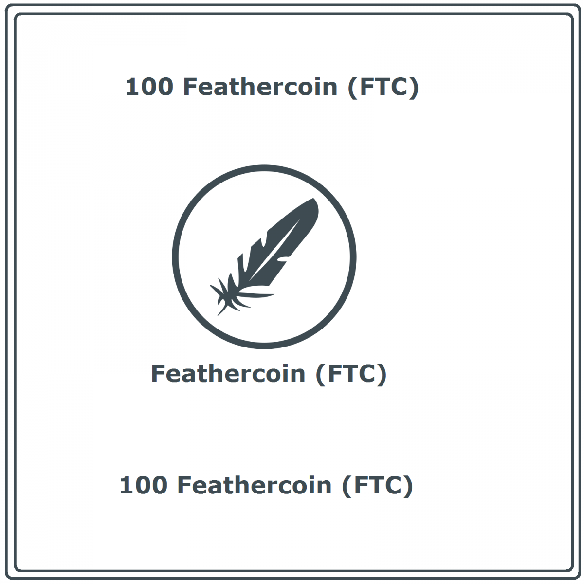 Mining Contract 100 Feathercoin (FTC)