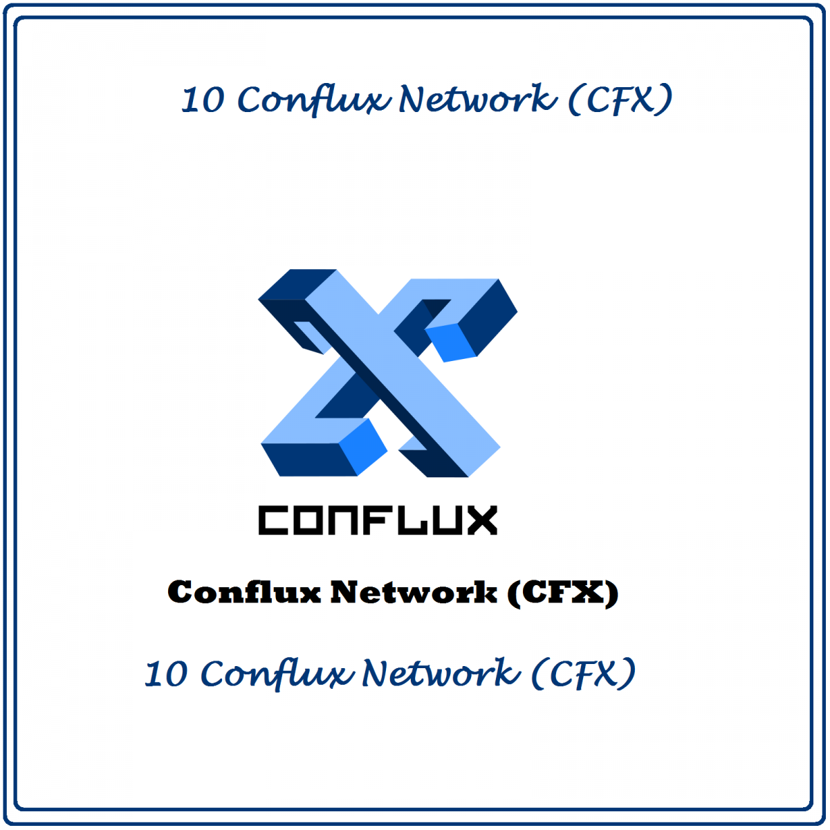 10 Conflux Network (CFX) Mining Contract
