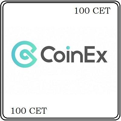 100 CoinEx Token (CET) Mining Contract