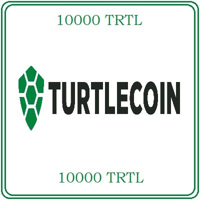 10000 TurtleCoin (TRTL) Mining Contract