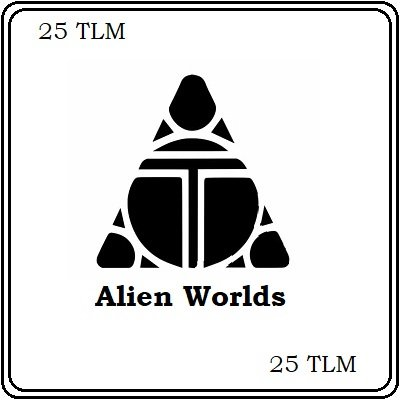 25 Alien Worlds (TLM) Mining Contract