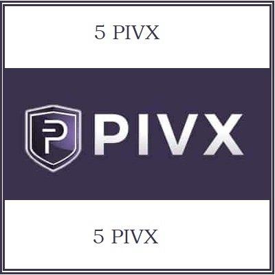 5 PIVX Mining Contract