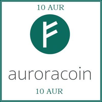 10 Auroracoin (AUR) Mining Contract
