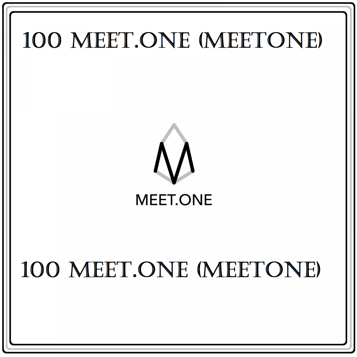 100 MEET.ONE (MEETONE) Mining Contract