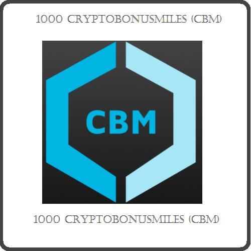 1000 CryptoBonusMiles (CBM) Mining Contract