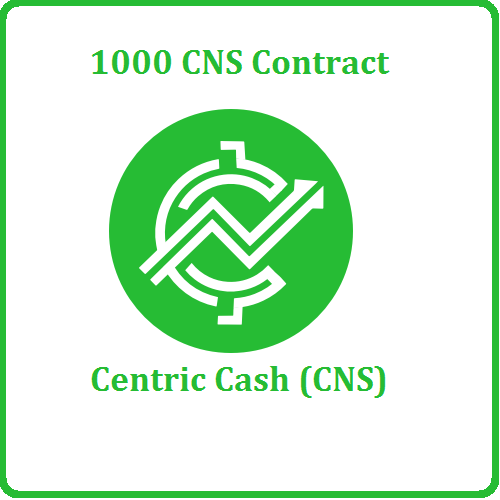 1000 Centric Cash (CNS) Mining Contract