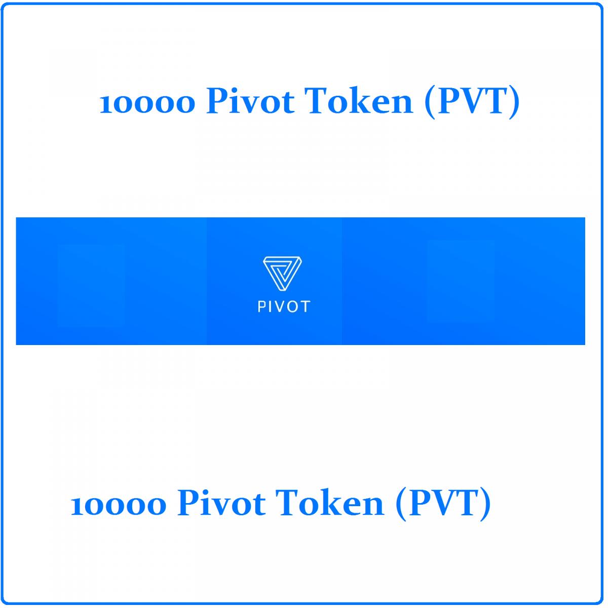 10000 Pivot token (PVT) Mining Contract