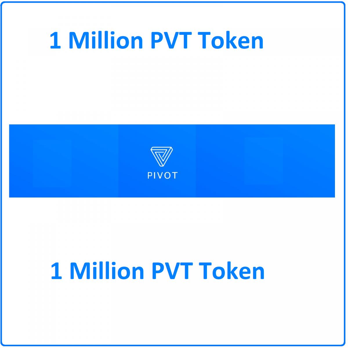 1 Million Pivot token (PVT) Mining Contract