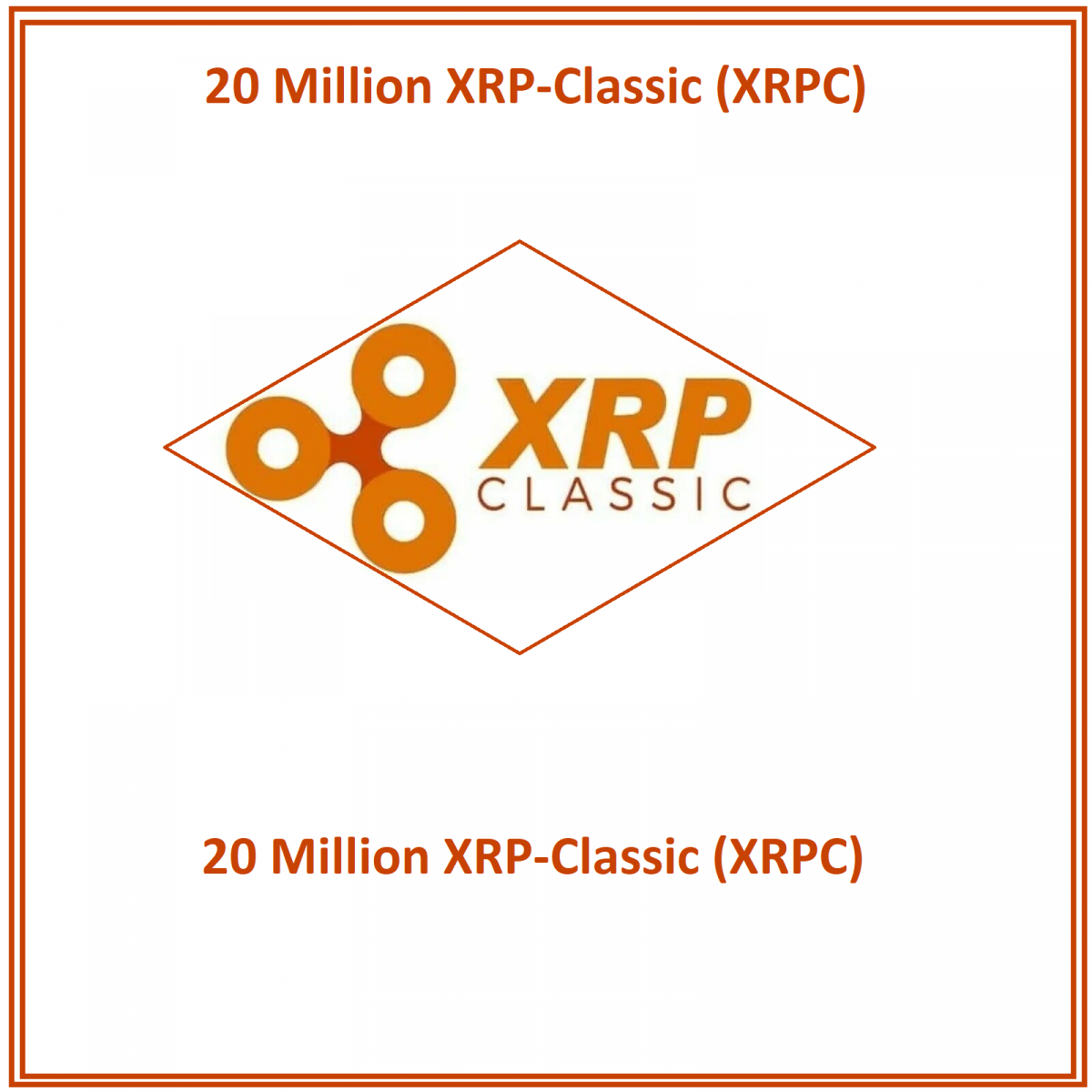 20 Million XRP-Classic (XRPC) Mining Contract