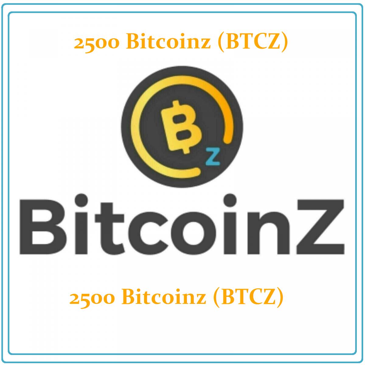 2500 BitcoinZ (BTCZ) Mining Contract