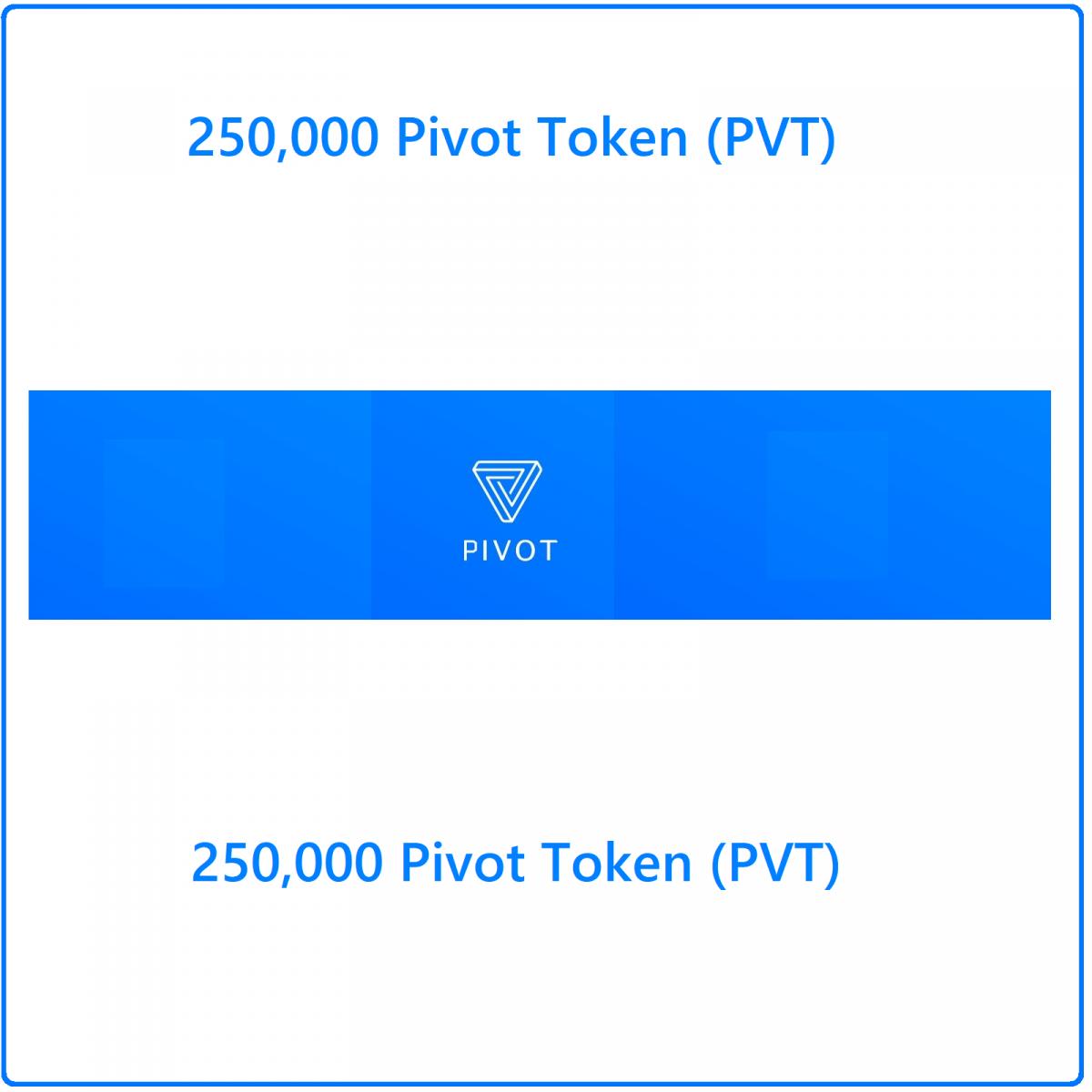 250000 Pivot token (PVT) Mining Contract