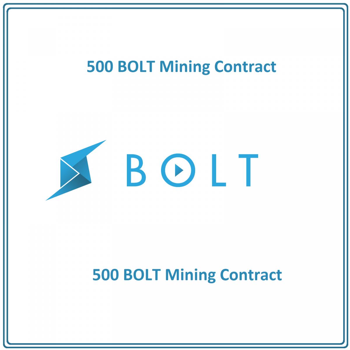 500 BOLT Token (BOLT) Mining Contract