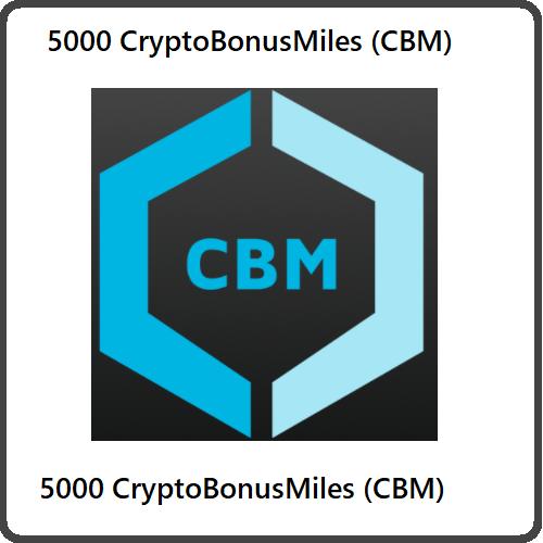 5000 CryptoBonusMiles (CBM) Mining Contract