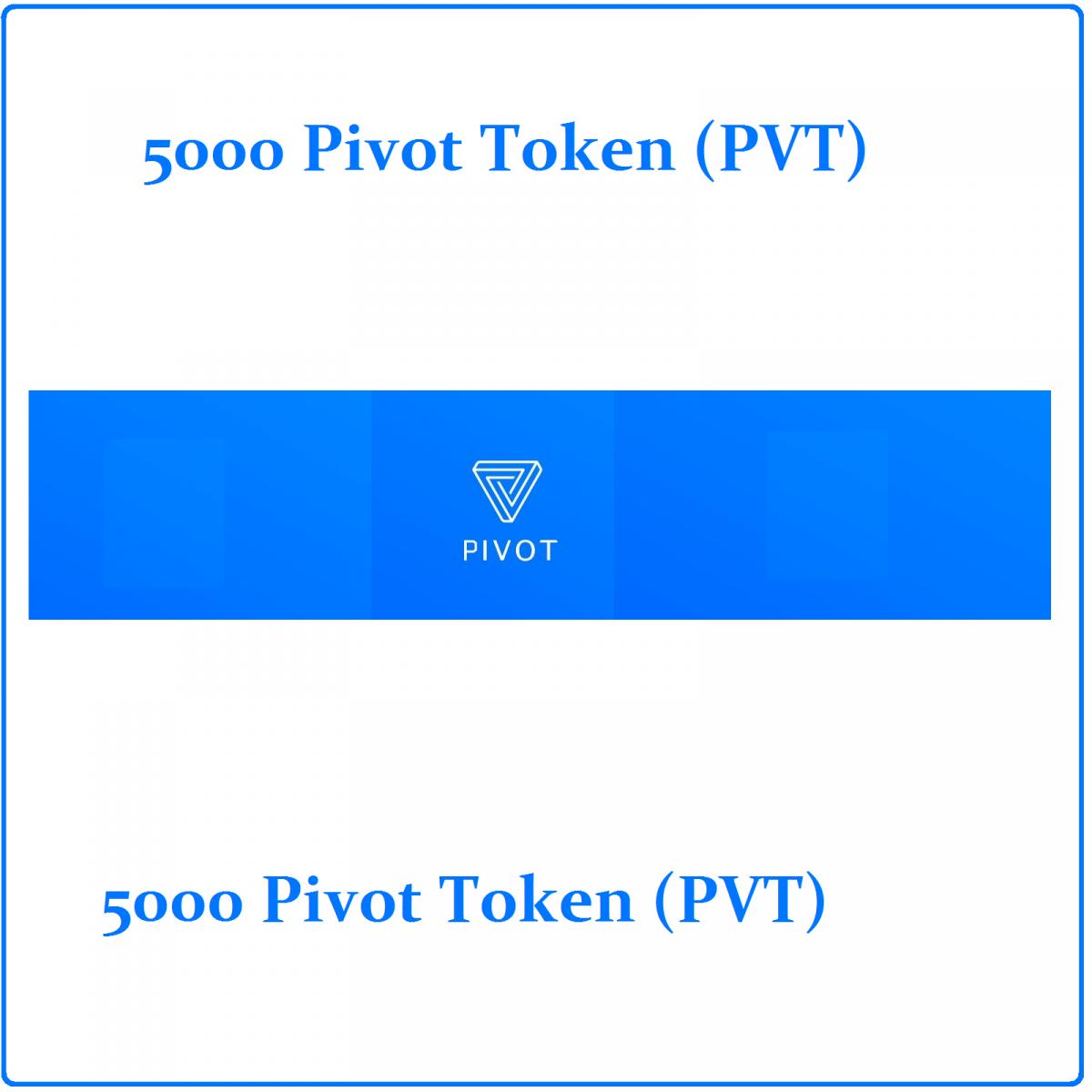 5000 Pivot token (PVT) Mining Contract