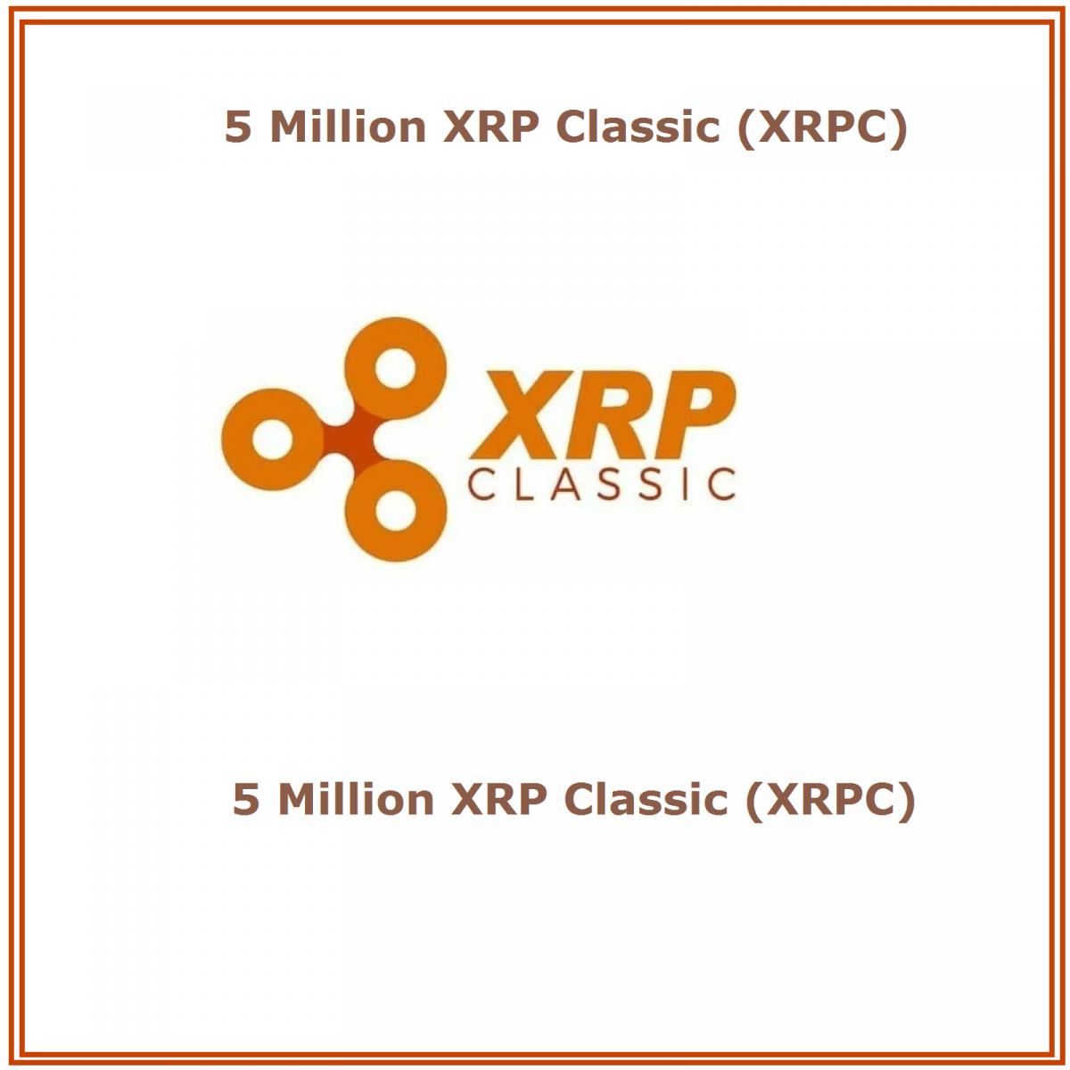 5 Million XRP-Classic (XRPC) Mining Contract