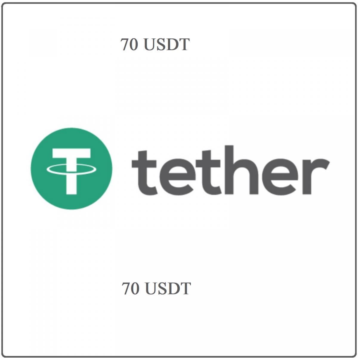70 USDT Tether